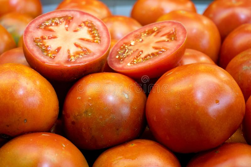 Pomidoru pełny ekran fotografia stock