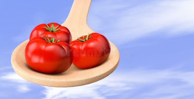 Pomidory royalty ilustracja