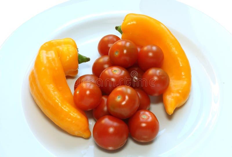 Pomidory i papryka zdjęcia royalty free
