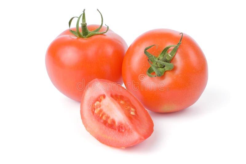 pomidory odizolowane białe tło fotografia royalty free
