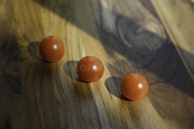Pomidory przygotowywają dla gotować fotografia stock