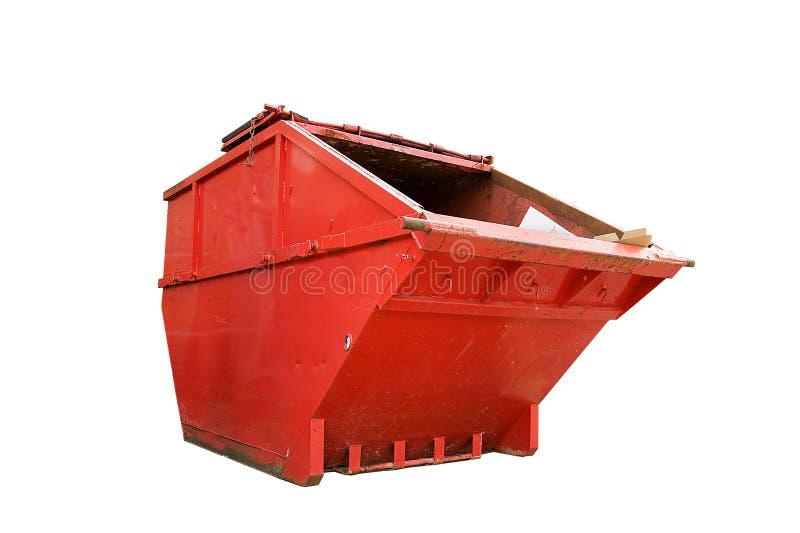 pominięcie przemysłowy odpady obraz stock