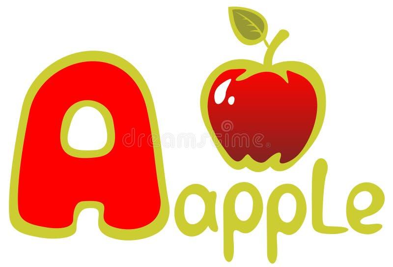 pomme illustration libre de droits