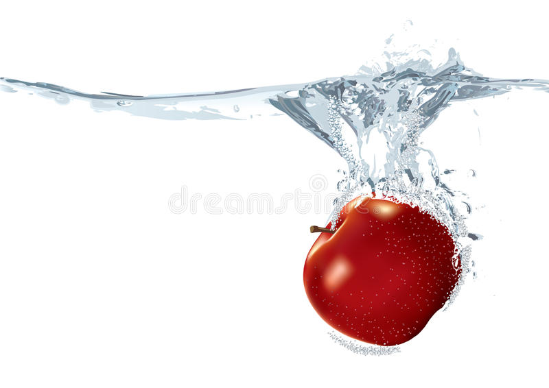 pomme illustration stock