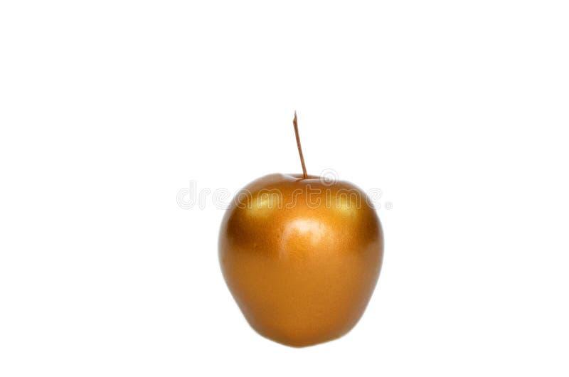 Pomme d'or de gemme photographie stock libre de droits