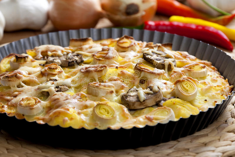 pomme de terre de gâteau photos libres de droits