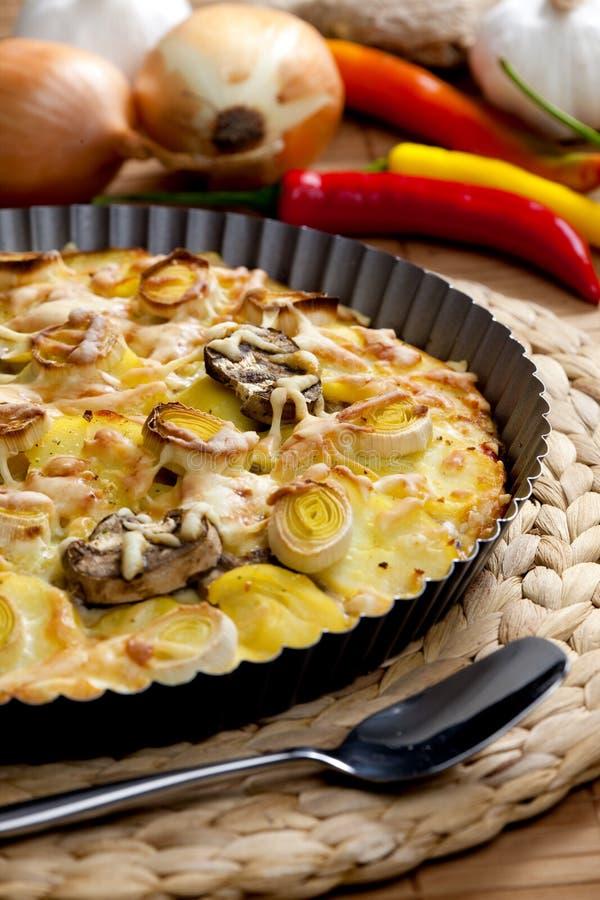 pomme de terre de gâteau images libres de droits