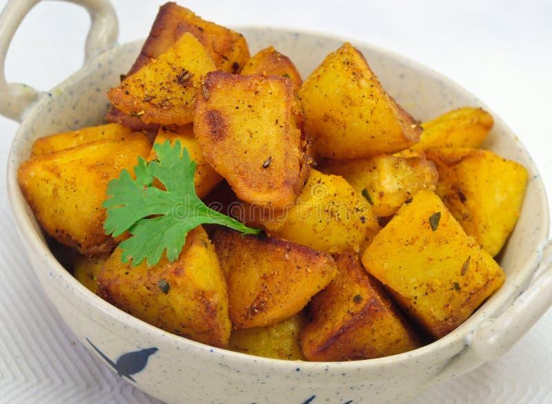 Pomme de terre frite indienne photographie stock libre de droits