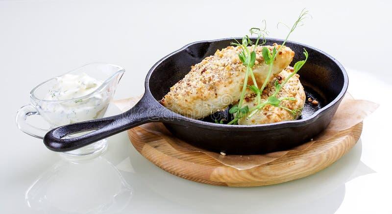 Pomme de terre zrazy Tartes cuits au four de p?te de pomme de terre avec de la viande hach?e photo stock