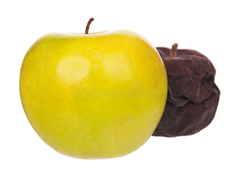 Pomme crue image libre de droits