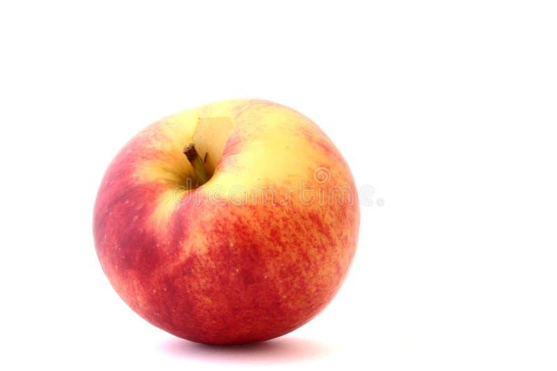 Pomme fraîche isolée sur le blanc photo stock
