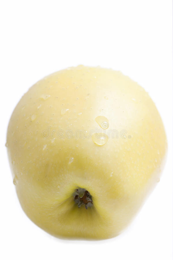 Pomme jaune. photo stock