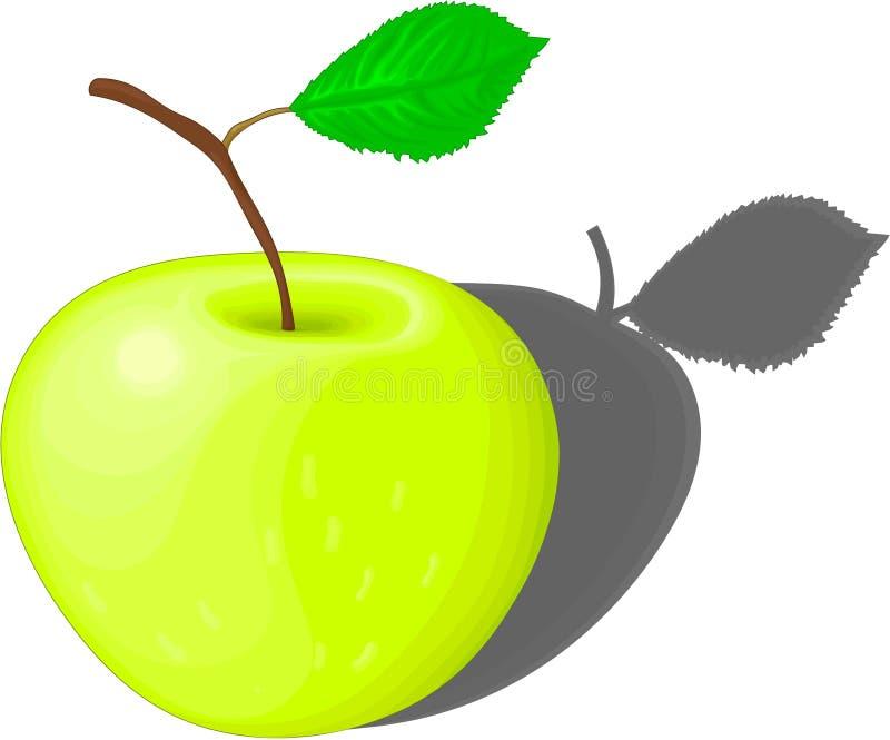 Pomme jaune photo libre de droits