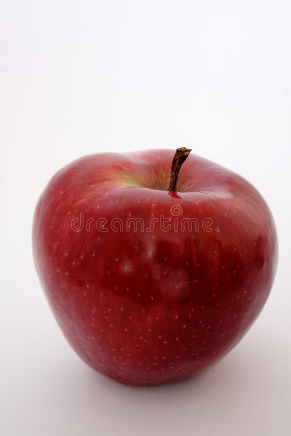 Pomme rouge photo libre de droits