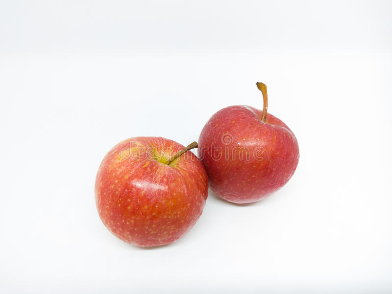 Pomme rouge photo libre de droits