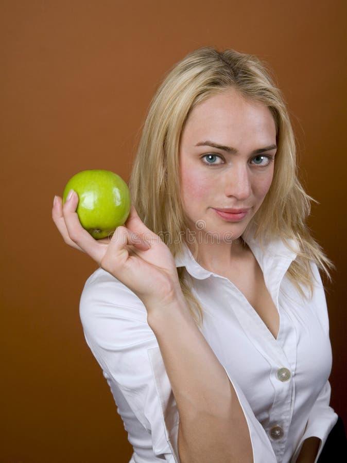 Pomme saine image libre de droits