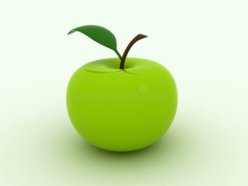 Pomme verte illustration libre de droits