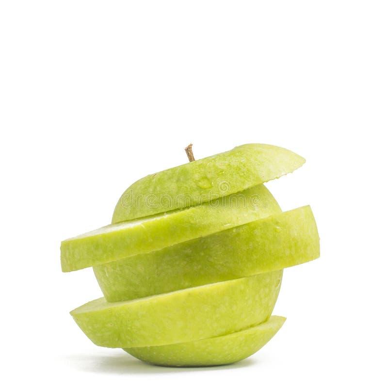 Download Pomme Verte Coupée En Tranches Photo stock - Image du pomme, vert: 77162678