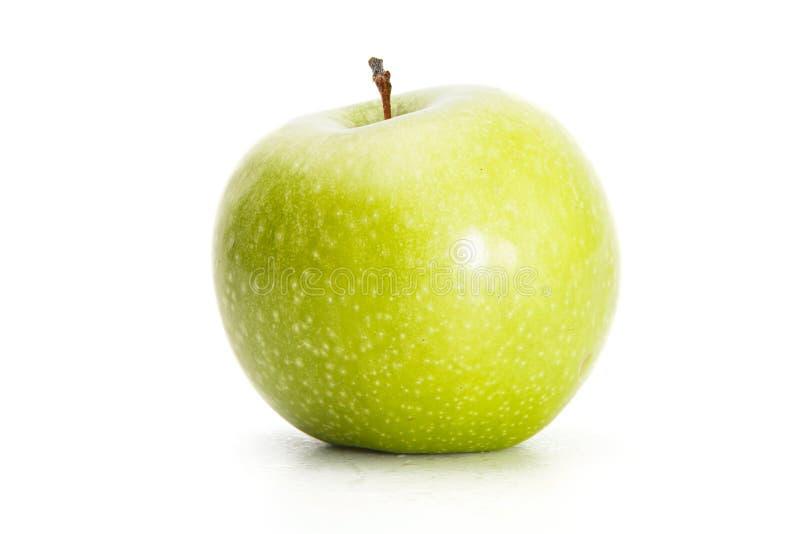 Pomme verte, sur le blanc photo libre de droits