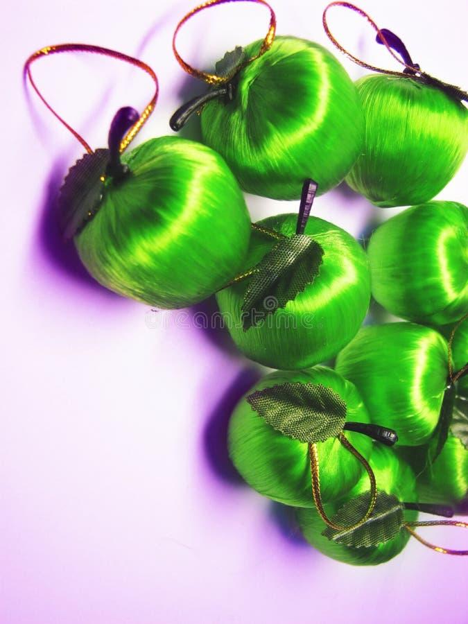Pommes 2 de Noël photo libre de droits