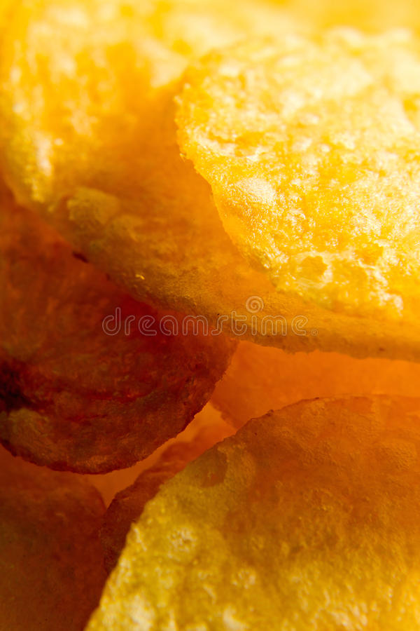 Pommes chips. photos stock