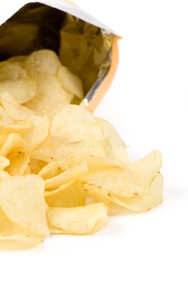 Pommes chips photos libres de droits