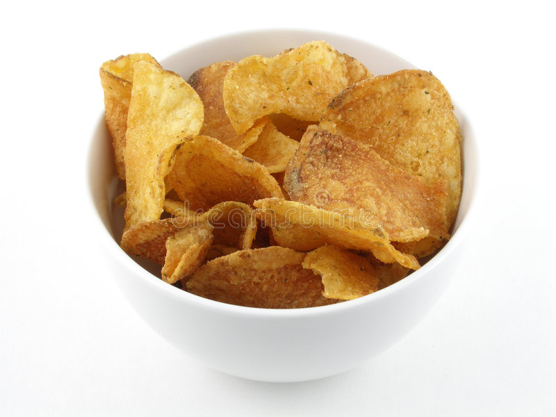 Pommes chips photos stock