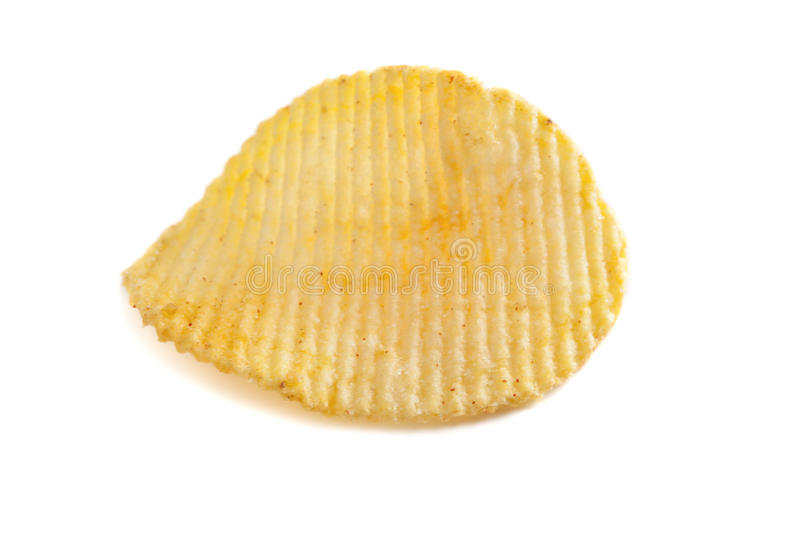 Pommes chips simples images stock
