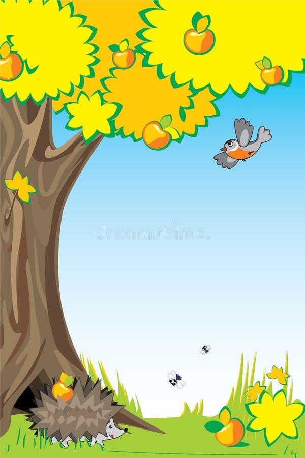 Pommes de Photoframe illustration stock
