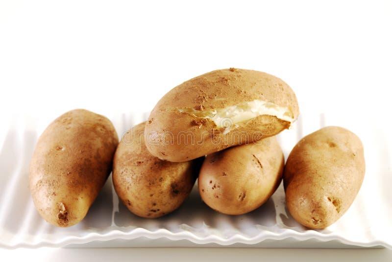 Pommes de terre cuites au four image stock