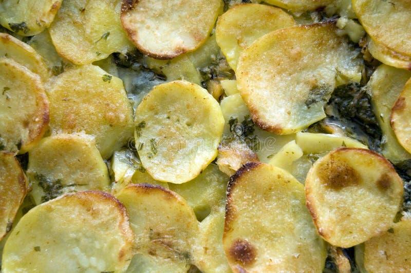 pommes de terre de morue photographie stock libre de droits