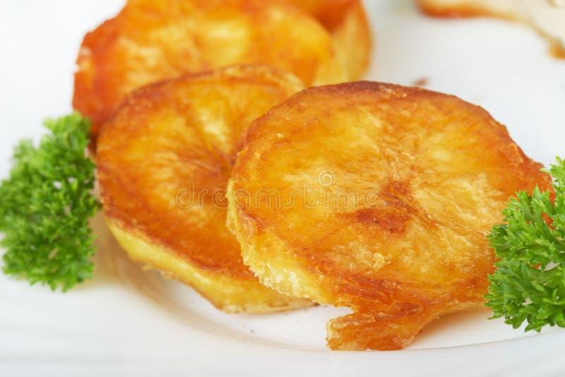 Pommes de terre frites photos stock