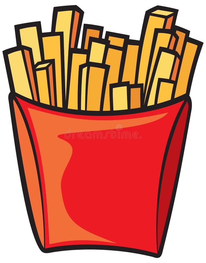 Download Pommes-Frites vektor abbildung. Illustration von chip - 26367719
