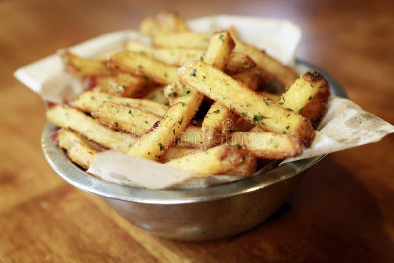 Pommes frites royaltyfria foton