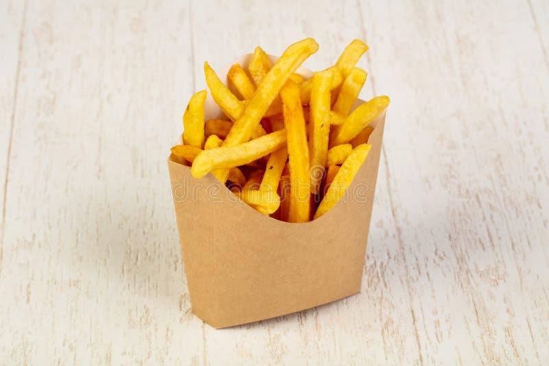 Pommes frites agréables au goût photo stock