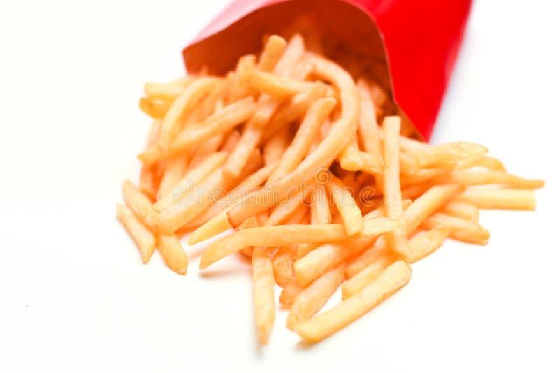 Pommes-Frites getrennt stockfoto