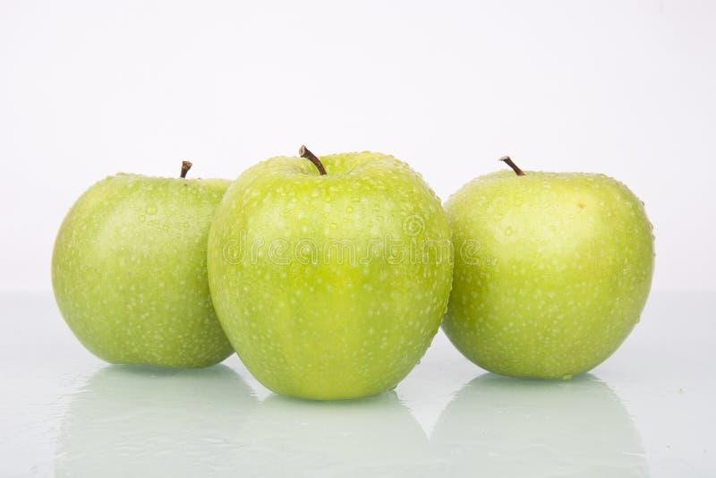 Pommes juteuses fraîches images stock
