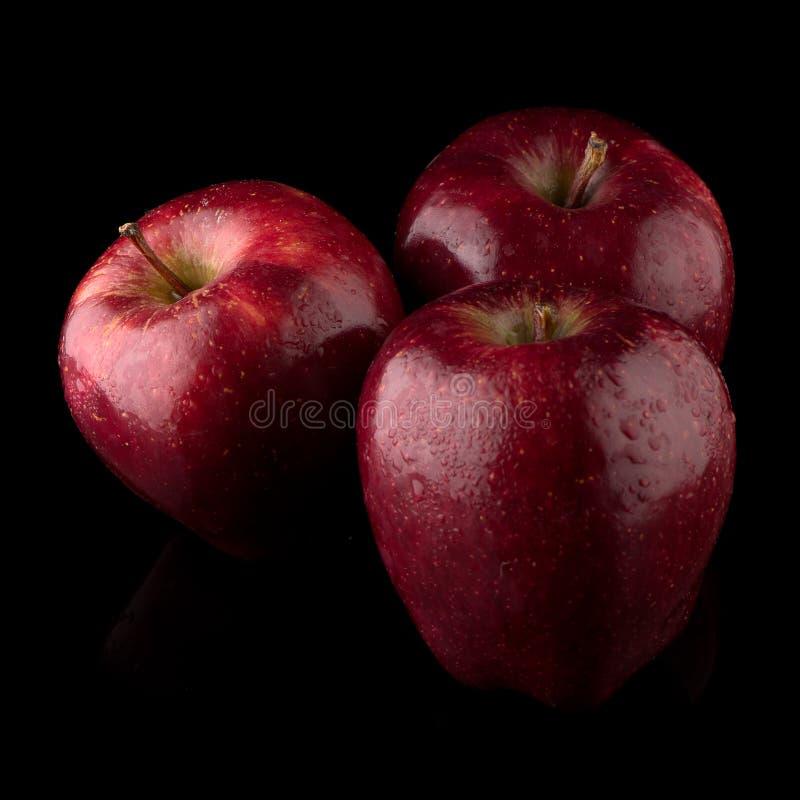 Download Pommes rouges fraîches photo stock. Image du nature, nourriture - 76090172