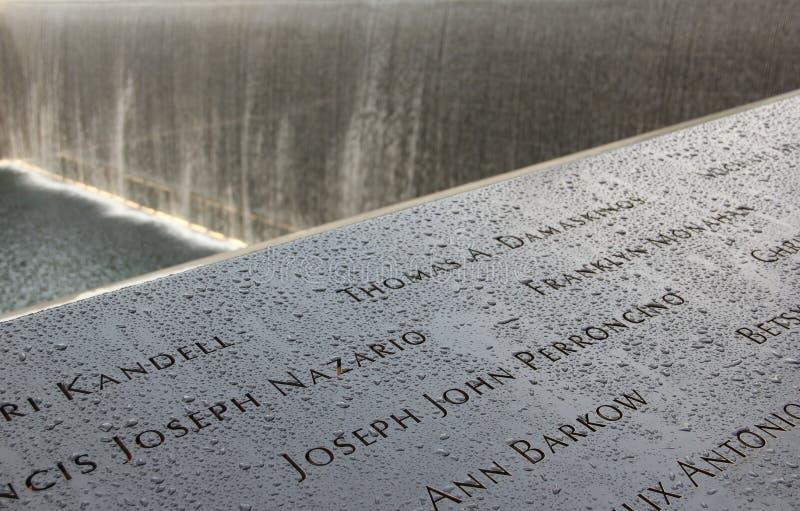 9/11 pomników zdjęcia royalty free