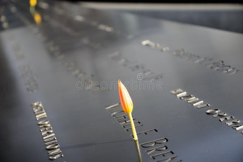 9 11 pomnik zdjęcie stock