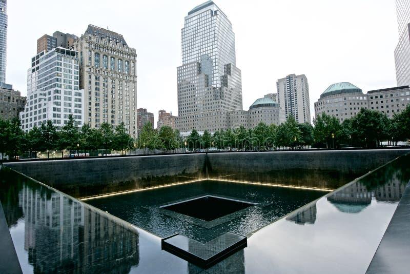 9 11 pomnik zdjęcia stock