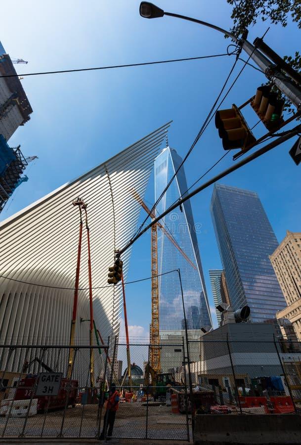 pomnik 11 9 2001 obraz royalty free
