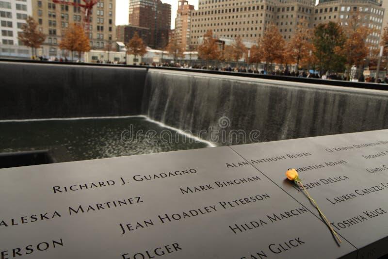 Pomnik 9-11-2001 zdjęcia royalty free