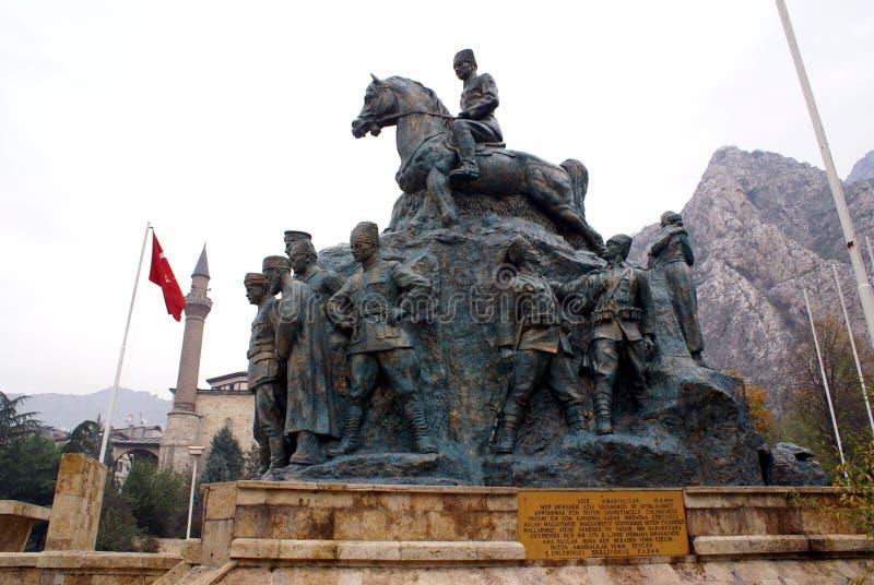 pomnik ataturk zdjęcie stock