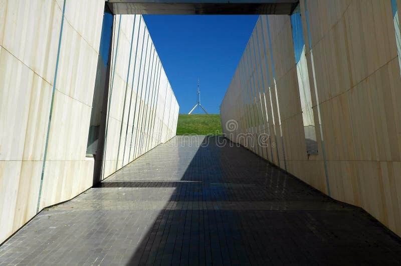 pomnik canberra zdjęcia royalty free