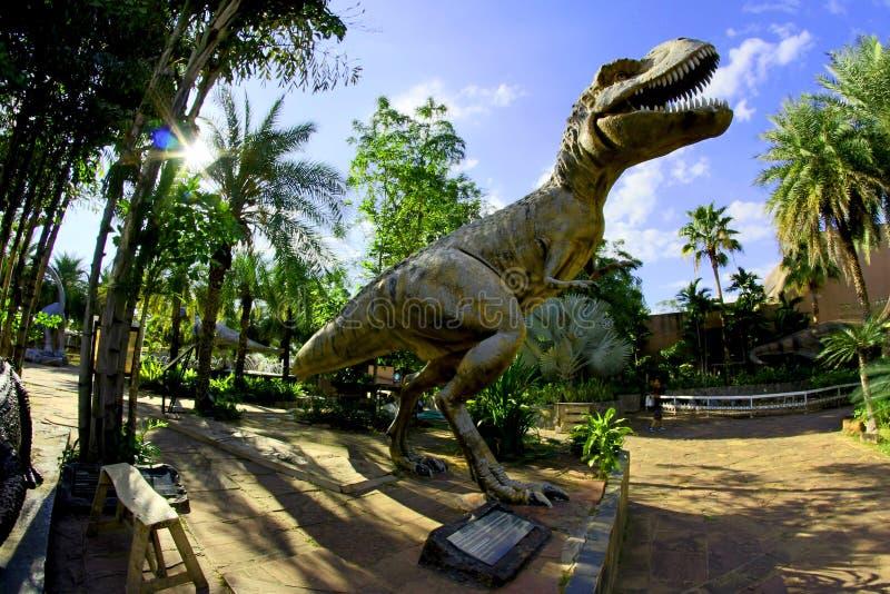 Pomnik Dinozaura zdjęcie stock