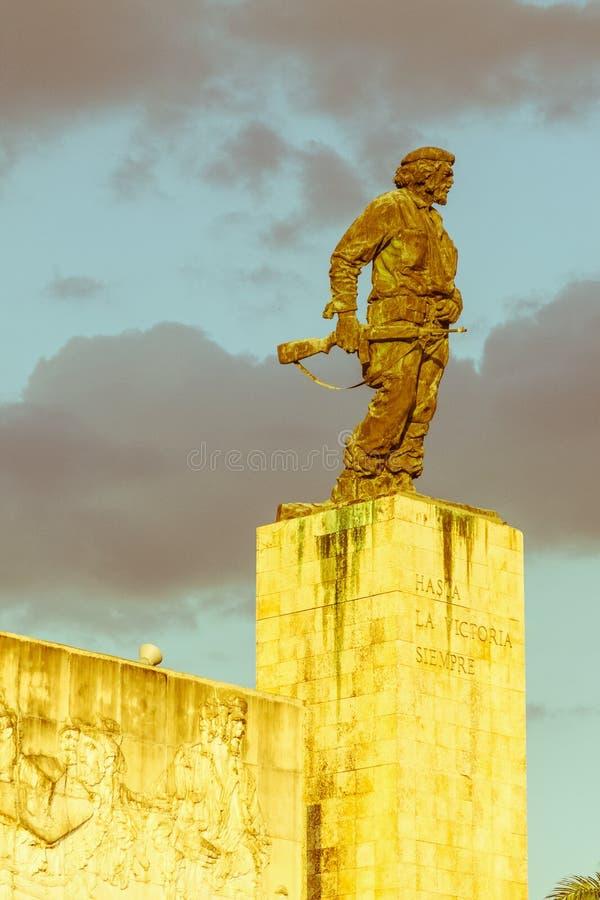 Pomnik i muzeum w Santa Clara Che Guevara był dowódcą w Buntowniczym wojsku który obalał Batista od rzędu w 1959 Ja fotografia stock
