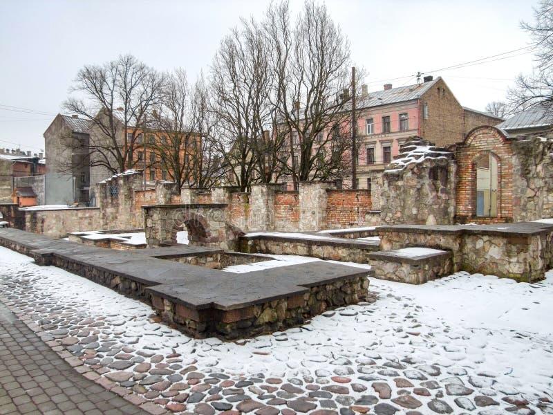 Pomnik w Ryskim zdjęcia royalty free