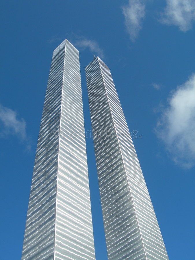 pomnik wieże obraz stock