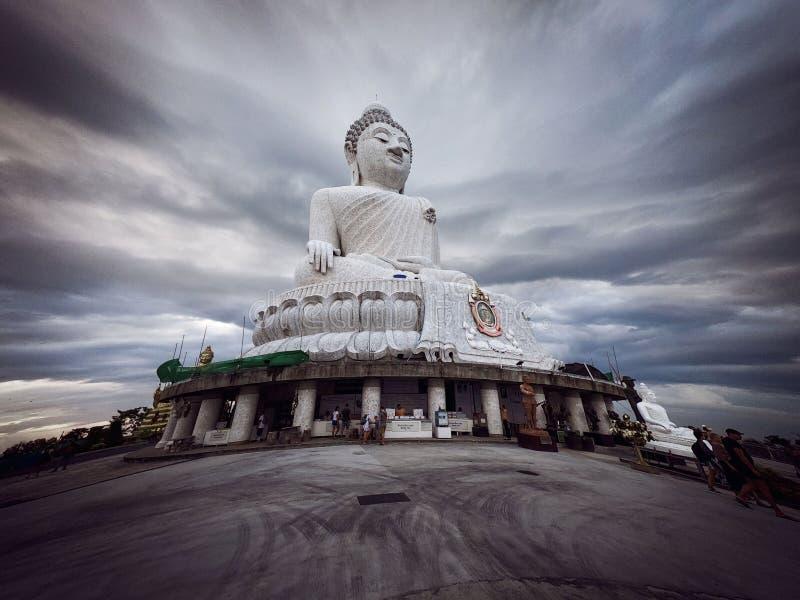 Pomnik Wielkiego Buddy - pomnik Maravija Buddha obraz royalty free